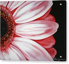 Pink Flower Acrylic Print by Dani Abbott