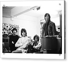 Pink Floyd 1967 Acrylic Print by Chris Walter