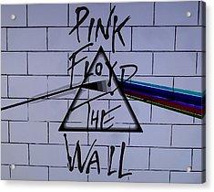 Pink Floyd Poster Acrylic Print
