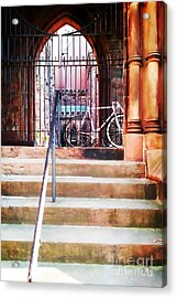 Pink Goes To Church Acrylic Print