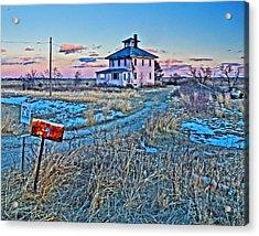 Pink House 001 Acrylic Print