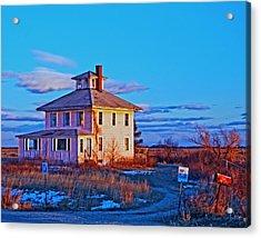 Pink House 002 Acrylic Print