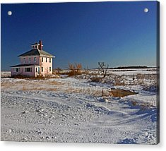 Pink House 003 Acrylic Print