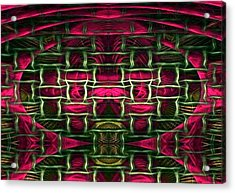 Acrylic Print featuring the painting Pink Illusion by Rafael Salazar