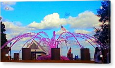 Pink Inspiration For The Cure Acrylic Print by Joetta Beauford