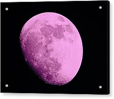 Pink Moon Acrylic Print by Tom Gari Gallery-Three-Photography
