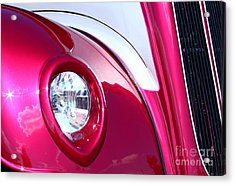 Acrylic Print featuring the photograph Pink Passion by Linda Bianic