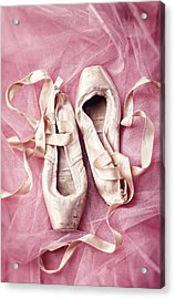 Pink Pirouette Acrylic Print
