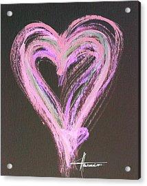 Pink Rules Acrylic Print