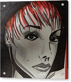P.i.n.k. Singer Acrylic Print