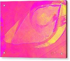 Pink Soul Dance Acrylic Print by Ernestine Manowarda