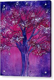 Pink Spring Awakening Acrylic Print