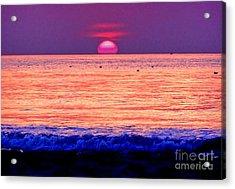 Pink Sun Acrylic Print