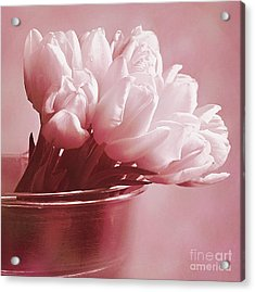 Pink Whisper Acrylic Print