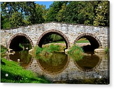 Pinkerton Road Bridge Acrylic Print