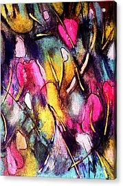 Pinktulips 2 Acrylic Print