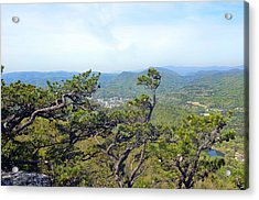 Pinnacle Mountain View Acrylic Print