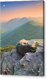 Pinnacle Rock Acrylic Print