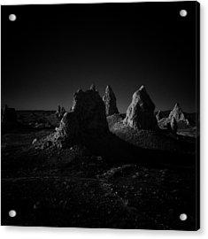 Pinnacles Facing The Sunrise Acrylic Print