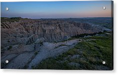 Pinnacles Overlook At Dusk Acrylic Print