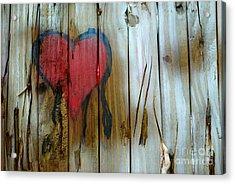 Pinocchio's Heart Acrylic Print