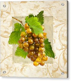 Pinot Gris II Acrylic Print by Lourry Legarde