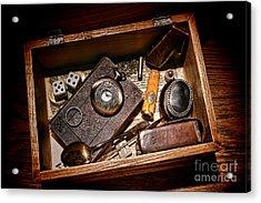 Pioneer Keepsake Box Acrylic Print by Olivier Le Queinec