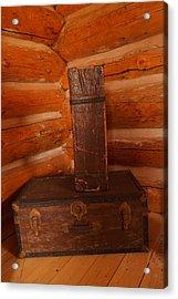 Pioneer Luggage Acrylic Print by Jeff Swan