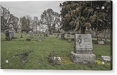 Pioneer Resting Place Acrylic Print by Jean Noren