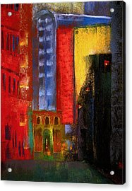 Pioneer Square Alleyway Acrylic Print by David Patterson