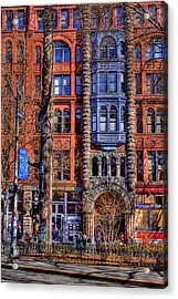 Pioneer Square No.1 Acrylic Print by David Patterson