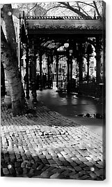 Pioneer Square Pergola II Acrylic Print by David Patterson