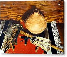 Pipe Hawk Acrylic Print