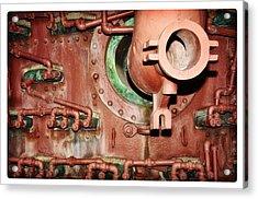Pipe Maze Acrylic Print