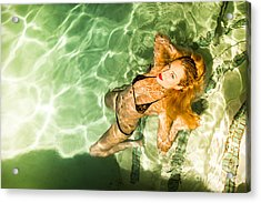 Acrylic Print featuring the photograph Wet Piper Precious No73-5824 by Amyn Nasser