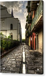 Pirate Alley Acrylic Print by Greg and Chrystal Mimbs