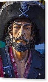 Pirate Captain Acrylic Print by Garry Gay