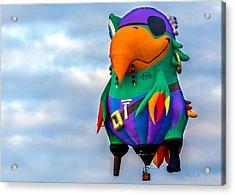 Pirate Parrot Pegleg Pete Acrylic Print