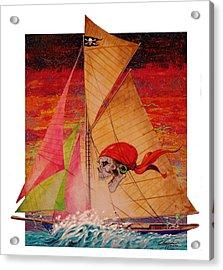 Pirate Passage Acrylic Print by David  Chapple