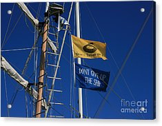 Pirate Rigging Acrylic Print