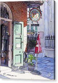 Pirates Alley 161 Acrylic Print by John Boles