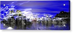 Pirates Cove Acrylic Print