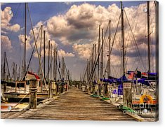Pirate's Cove Acrylic Print by Lois Bryan