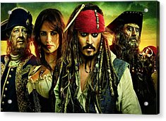 Pirates Of The Caribbean Stranger Tides Acrylic Print