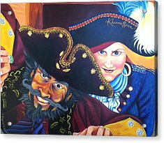 Pirates Acrylic Print by Sherri Carroll