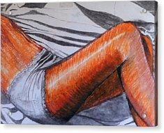 Pirelli Lady Acrylic Print