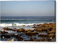 Pismo Beach Seascape Acrylic Print by Barbara Snyder