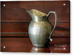 Pitcher Acrylic Print by Chris Anderson