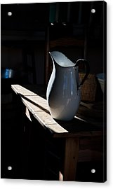 Pitcher On Table Acrylic Print