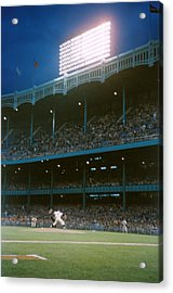 Old Yankee Stadium  Acrylic Print by Retro Images Archive